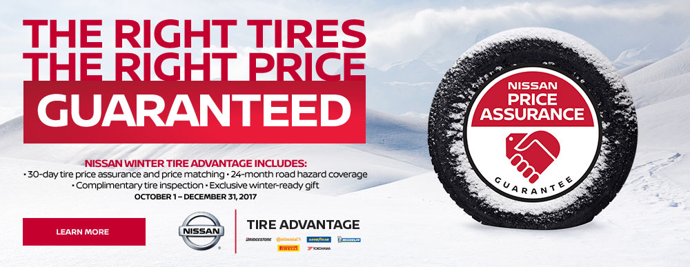 Waterloo Nissan Winter Tire Sale