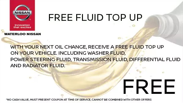 Free Fluid Top Up